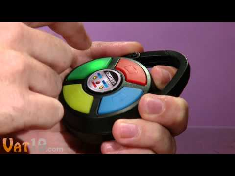 Mini Portable Simon Game with Carabiner