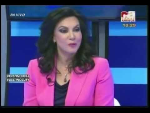 170515 Canal Antigua Destino 2016 entrevista Zury Rios parte 1