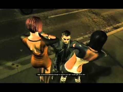 Deus Ex Human Revolution: Adam Jensen's Bitchslapping Montage
