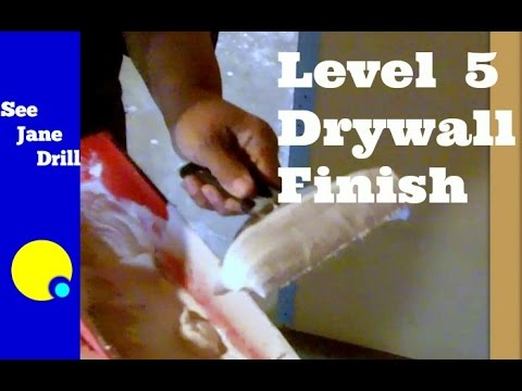 How to Create a Level 5 Drywall Finish