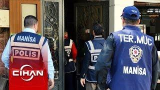 Manisa'da beş derneğe eşzamanlı polis baskını yapıldı