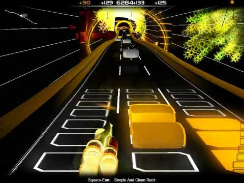 Audiosurf - CarboHydroM - Kingdom Hearts OST - Rising Sun - (...