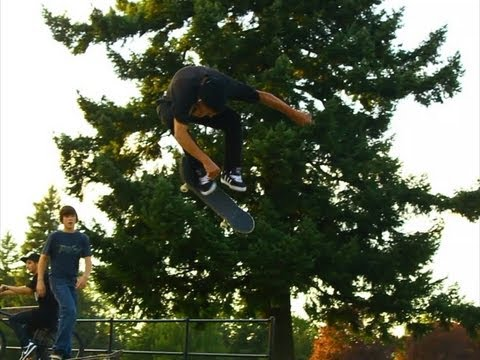 HUGE 360 Kickflip