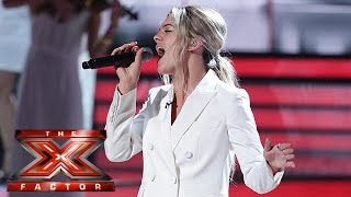 Louisa Johnson smashes James Brown clic | Semi-Final | The X Factor 2015