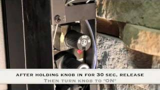 How To Light Pilot Light On Gas or Propane Fireplace.m4v