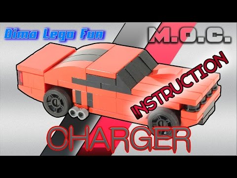 Dodge Charger (Challenger) How to build Lego  Как собрать Додж Чарджер Лего самоделка Инструкция