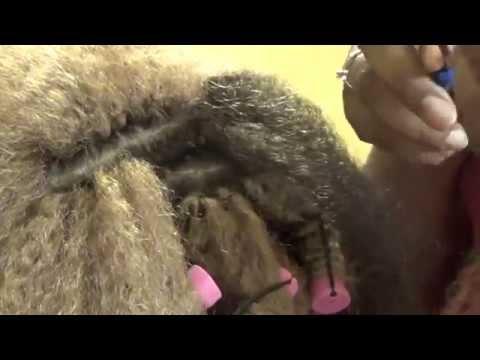 Crochet Braids using Marley Hair