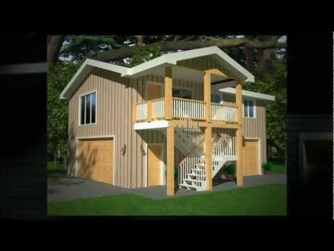 turn seperate building into studio apartment