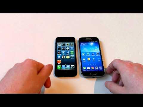 Vergleich: Samsung Galaxy S4 mini vs. Apple iPhone 5