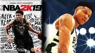 NBA 2K19 News #2 - Greek Freak ARCHETYPE & Cover Athlete