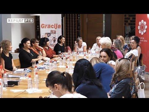 """""""Kafa u 5 do 5"""" okupila uspješne žene Hercegovine (04.09.2019.)"""