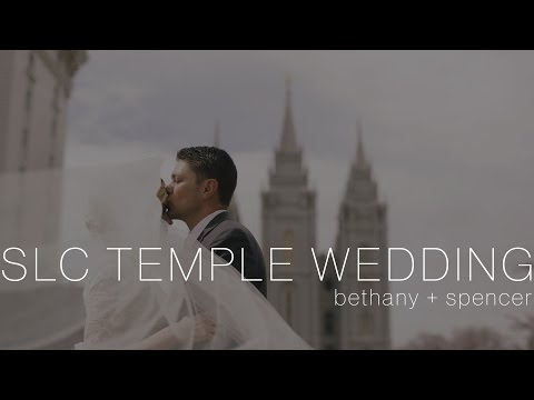 Salt Lake City LDS Temple + Bellington Manor Wedding | Bethany & Spencer's Utah Wedding Film