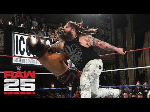 """Woken"" Matt Hardy vs. Bray Wyatt: Raw 25, Jan. 22, 2018"