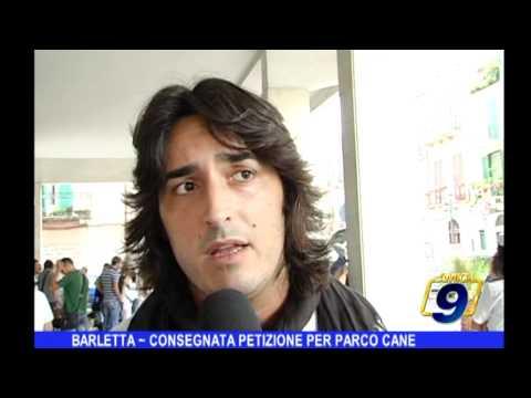 Barletta | Consegnata petizione per parco cane