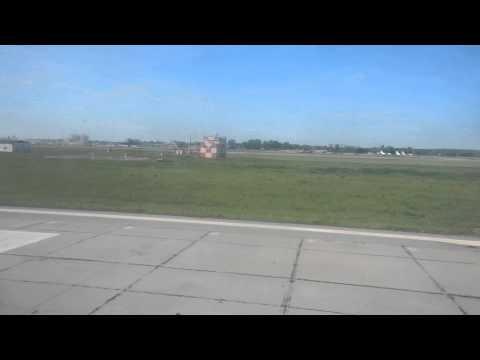 как взлетает самолет из Екатеринбурга (Кольцово)