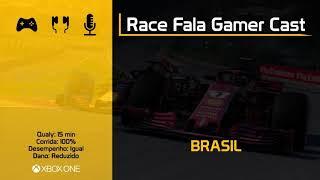 Fala Gamer Cast #14 - F1 2018 Liga FBV - RACE FALA GAMER CAST Pt.1