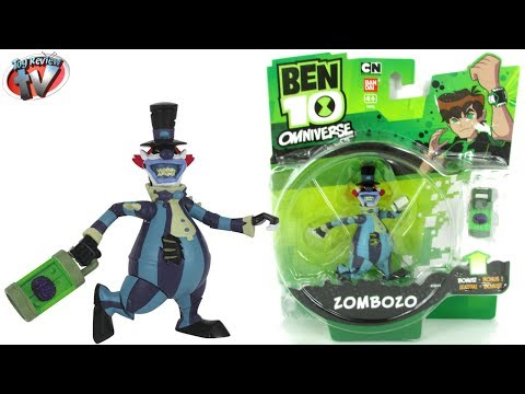 Ben 10 Omniverse Zombozo Action Figure Toy Review. Bandai