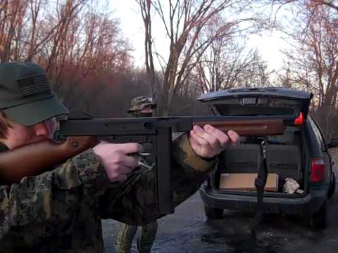 Snow Wolf Thompson M1A1 Demo