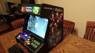 Monster Arcades LaunchBox Big Box Bartop Unboxing and First Look