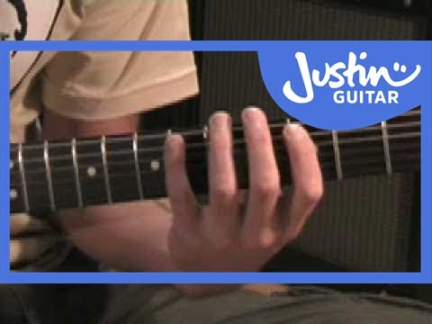 Jazz Blues with Walking Bass (Guitar Lesson JA-203) How to play
