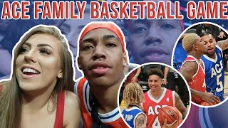 ACE FAMILY CHARITY BASKETBALL GAME | LA VLOG PART 3