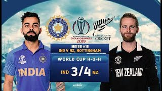 World Cup 2019 : India Vs New Zealand ICC World Cup 2019 Full Match Highlights | New Jersey Team In