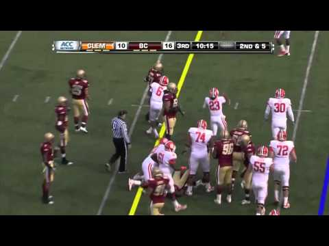 Luke Kuechly Boston College Eagles Highlights
