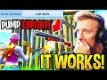 TFUE SHOWS *EASY* PUMP EXPLOIT *STEAL WALLS* FIRST TRY! (Fortnite)