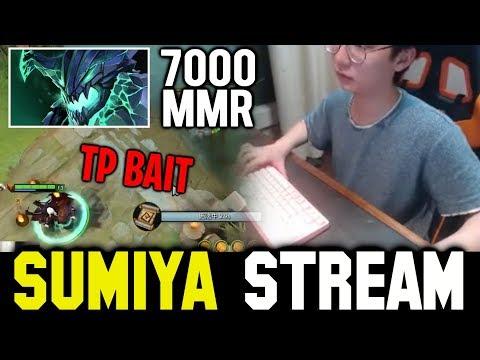 SUMIYA Tp Bait against 7k MMR Newbee.B Midlaner | SUMIYA Invoker Stream Moments #584