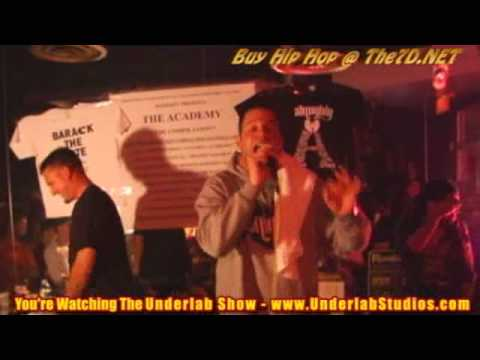 Real Hip Hop in Florida - Canibus Live In Miami - Underlab