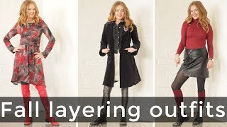 Fall layering outfits for women over 40 - over 40 style