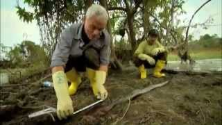 River Monsters- Lassoing an Electric Eel