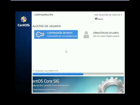 Linux CentOS 7 - Instalacion Modo Gráfico