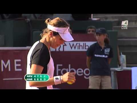 Sofia Arvidsson vs Maria José Martinez Sanchez Swedish Open 2011