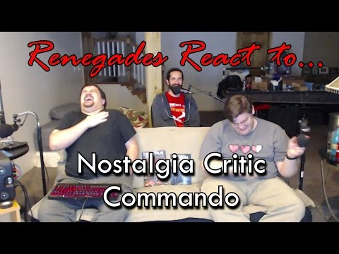 Renegades React to... Nostalgia Critic - Commando