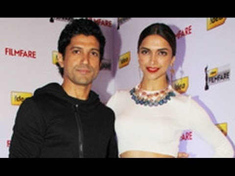 Deepika Padukone & Farhan Akhtar  at Filmfare Cover Page Launch | Magazine, Photoshoot