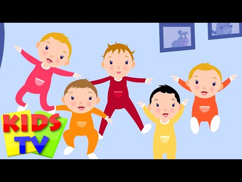 Five Little Babies | baby nursery rhymes | baby songs | kids tv nursery rhymes |