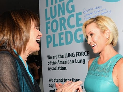 Valerie Harper, Kellie Pickler join forces for lung cancer campaign