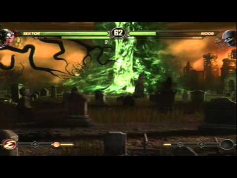 Mortal Kombat 9 - Cyrax and Sektor (MK3) (Tag Ladder) [Expert] No Matches/Rounds Lost