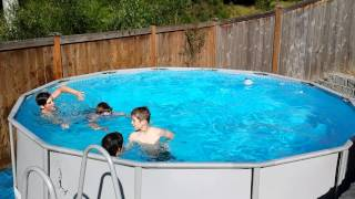Whirlpool swimming pool