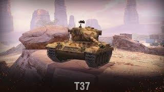 Качаю новые лёгкие танки США {T37} [WoT BlitZ]