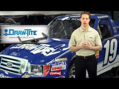 Brad Keselowski Talks about Draw-Tite Hitches