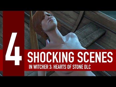 4 most shocking scenes in Witcher 3: Hearts of Stone DLC