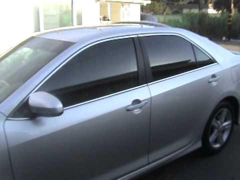 Window Tinting Toyota Camry Youtube