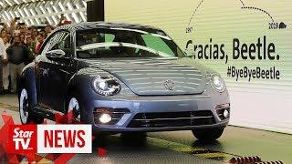 Bye bye, VW Beetle