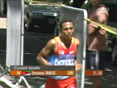 Third victory of Tadese