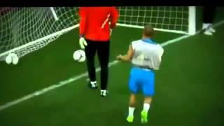 Sneijder'den Hollanda antremanında mükemmel gol !