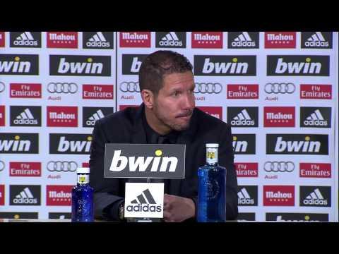 La Liga | Rueda de prensa de Simeone tras el Real Madrid-Atlético | 01-12-2012 | J14