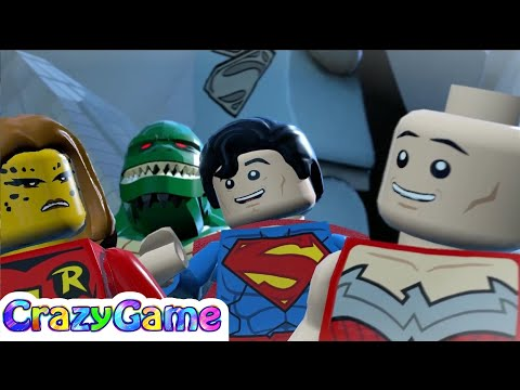 #LEGO #Batman 3 Episode 12 - Robin, Green Lantern, Wonder Woman, Lex Luthor vs Atrocitus