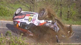 rallye Lyon Charbonnière 2015 jour 2 crash, mitstake on the limit par rigostyle